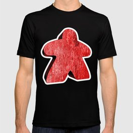 Giant Red Meeple T-shirt