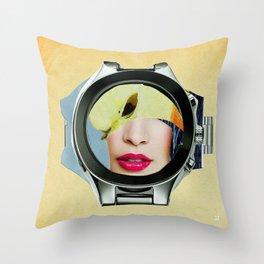 App around the clock Throw Pillow