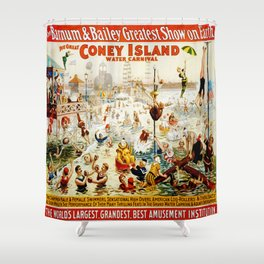 Vintage poster - Circus Shower Curtain