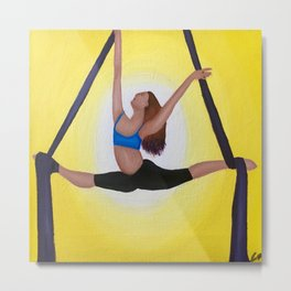 Aerial Dancer Metal Print