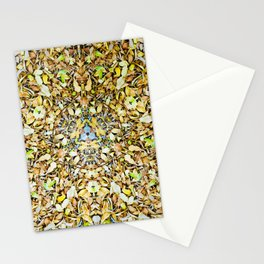 A Circle of Leaves Stationery Cards
