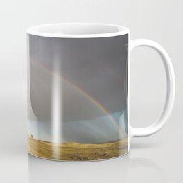 Rainbow after the Storm - Badlands National Park Coffee Mug