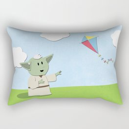 SW Kids - Yoda Kite Rectangular Pillow