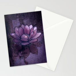 Lotus Light Stationery Cards