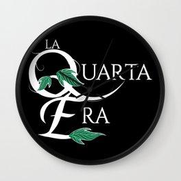 LaQuartaEra_Black Wall Clock