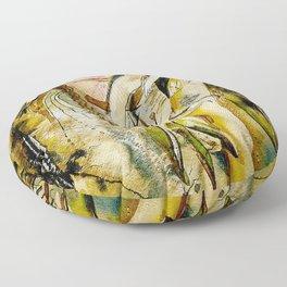Golden Collar Floor Pillow
