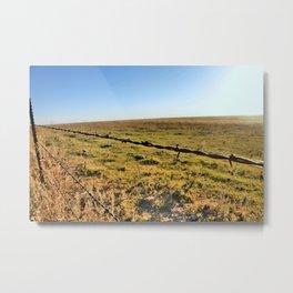 Barb Wire Metal Print
