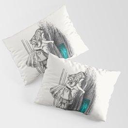 Follow The White Rabbit Pillow Sham