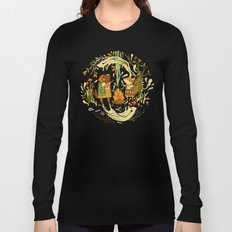 Animal Chants & Forest Whispers Long Sleeve T-shirt