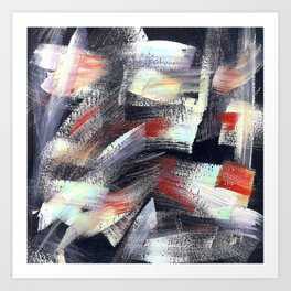 Abs multicolor 4567 Art Print