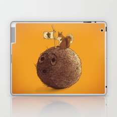 Conquering the biggest nut Laptop & iPad Skin