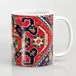 Qashqa'i Antique Fars Persian Bag Face Coffee Mug