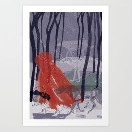 In the Company of Wolves Art Print