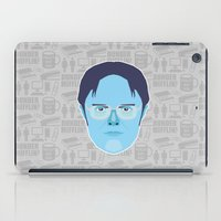 dwight schrute iPad Cases featuring Dwight Schrute - The Office by Kuki