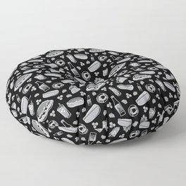 Skyline Chili Pattern Night Floor Pillow