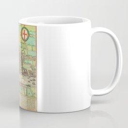 A Modern Map of London Coffee Mug