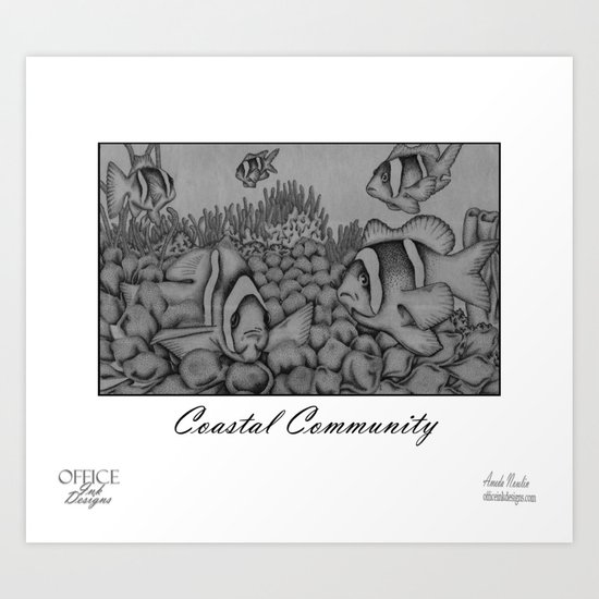 Coastal Community Art Print