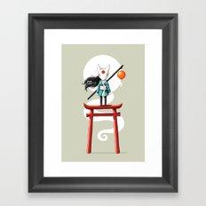 Torii 2 Framed Art Print