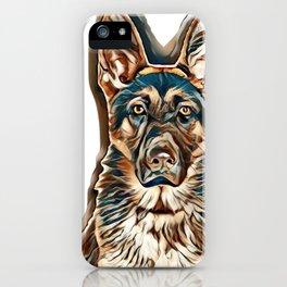 rescue pup iPhone Case