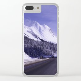 Highway to Hell Clear iPhone Case