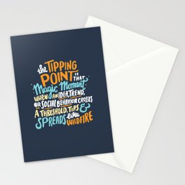 Tipping Point Stationery Cards