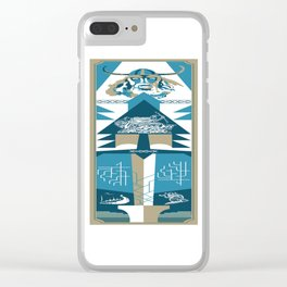 A Viking History No. 2 Clear iPhone Case