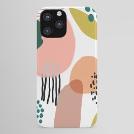 Abstract Modern Art Pattern 2 iPhone Case