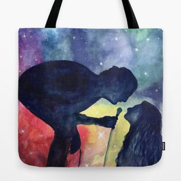 Robbers in watercolor Tote Bag