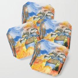 Cabins in Fall Coaster