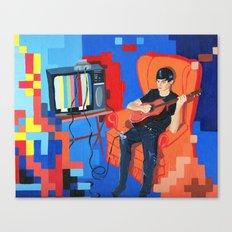 PIXEL BAND Canvas Print