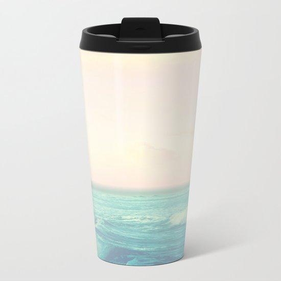 Sea Salt Air Metal Travel Mug
