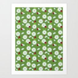 chamomiles Art Print
