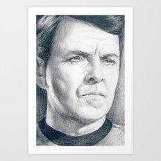 Beam Me Up Scotty (Star Trek TOS) Art Print