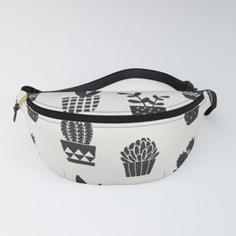 Desert Potted Cactus + Succulents Fanny Pack
