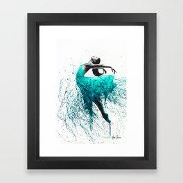 Kingfisher Woman Framed Art Print