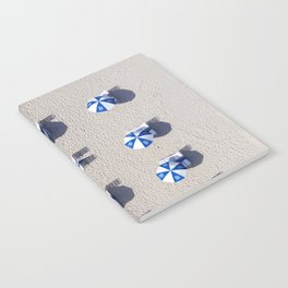 Beach Umbrellas Notebook
