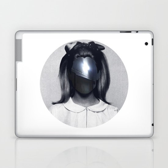 Fear collage Laptop & iPad Skin