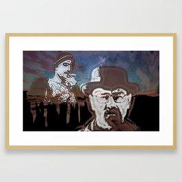 Breaking Bad Over New Mexico Sunset Framed Art Print