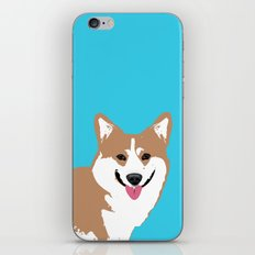 Smiling Corgi Dog Art iPhone & iPod Skin