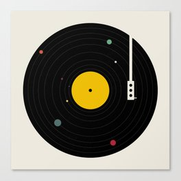 Music, Everywhere Canvas Print