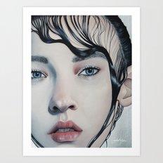 Sparkling Art Print