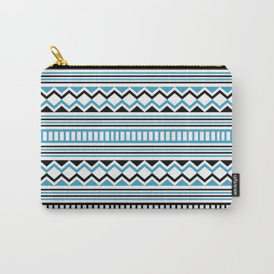 Tribal Scarf Carry-All Pouch