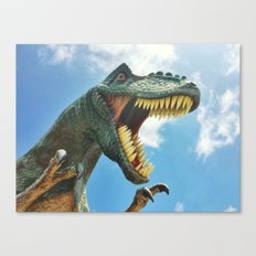 T-Rex Roar Canvas Print