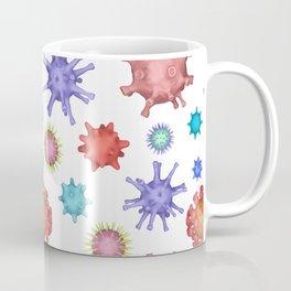 Different kinds of viruses (pattern) Coffee Mug