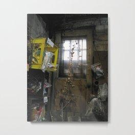 Forgotten Doorway Metal Print