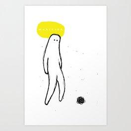 whatever Art Print