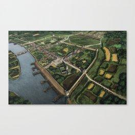 Clonmel Siege Canvas Print