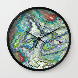 Digital Abstract Art Wall Clock