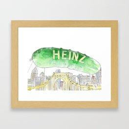 Picklesburgh Framed Art Print