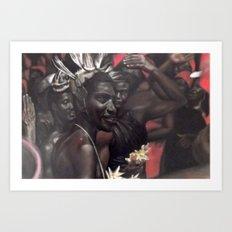 Red Ceremony Art Print